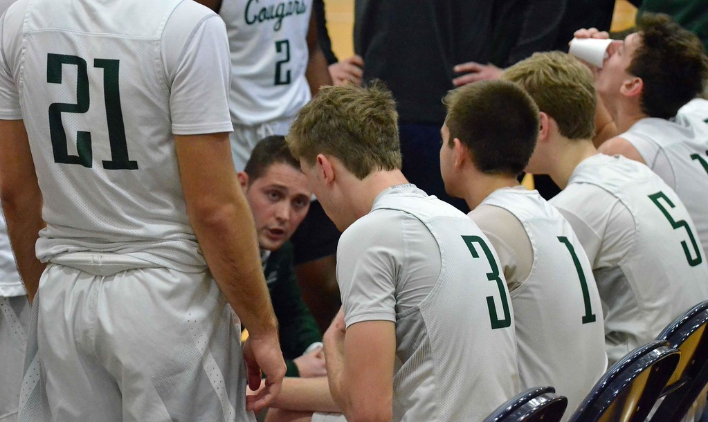. Paul DiCicco - The News-Herald Photos from the Gilmour vs. Lake Catholic boys basketball game on Jan. 28, 2018 at John Carroll University.