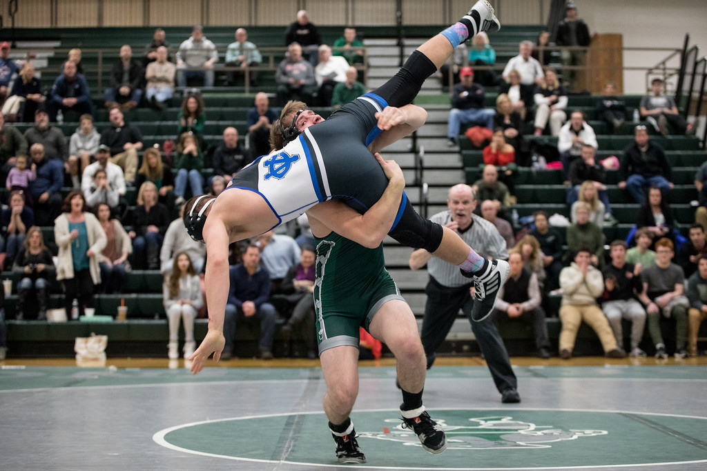 . Sharon Holy - The News-Herald Photos from the Lake Catholic Region of the Division II state duals tournament on Jan. 31, 2018.
