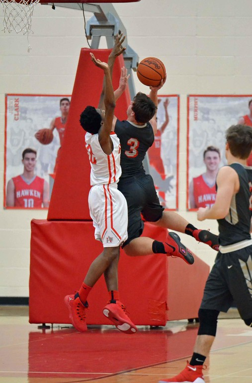 . Paul DiCicco - The News-Herald Photos from the Cardinal at Hawken boys basketball game on Feb. 1, 2018.