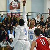 Paul DiCicco - The News-Herald<br />  VASJ's William Butler shoots a smooth reverse layup in the second quarter.