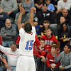 Paul DiCicco - The News-Herald<br />  VASJ's Jerry Higgins shooting a foul shot.