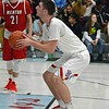 Paul DiCicco - The News-Herald<br /> VASJ's Daniel McGarry attempting a foul shot in the second quarter.