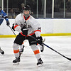 Jon Behm - The Morning Journal<br /> North Olmsted sophomore Riley Vertosnik calls for the puck during the third period of a Baron Cup I quarterfinal against Kenston at Brooklyn's John M. Coyne Recreation Center on Feb. 9.