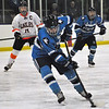 Jon Behm - The Morning Journal<br /> Kenston senior Jack Zalinsky makes a move toward the net against North Olmsted during the second period of a Baron Cup I quarterfinal at Brooklyn's John M. Coyne Recreation Center on Feb. 9.