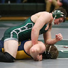 Sharon Holy - The News-Herald<br /> Lake Catholic's George Lassnick wrestles an opponent from St. Ignatius on Feb. 9.