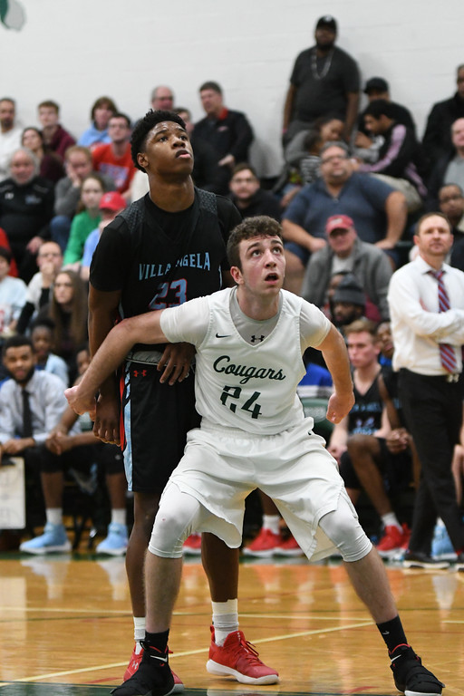 . Patrick Hopkins - The News-Herald Photos from the VASJ vs. Lake Catholic boys basketball game on Feb. 10.