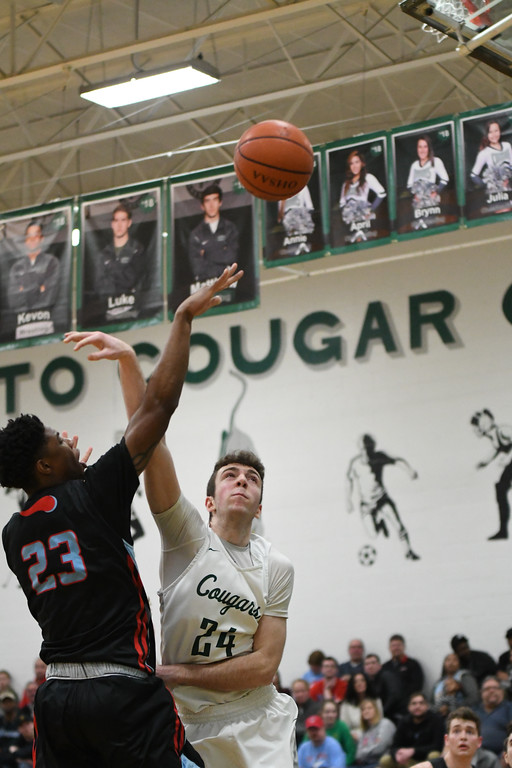 . Patrick Hopkins - The News-Herald Photos from the VASJ vs. Lake Catholic boys basketball game on Feb. 10.