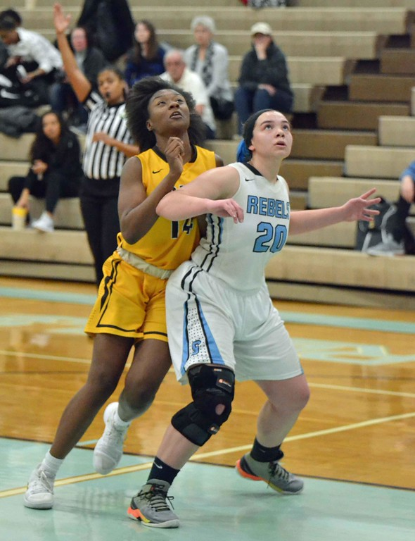. Paul DiCicco - The News-Herald Photos from the Brush at South girls basketball game on Feb. 10, 2018.