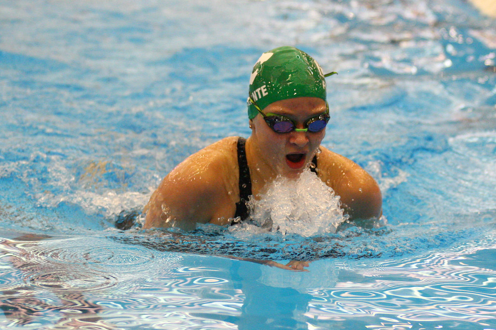 . 2018 - Swimming - D1 Sectionals at Spire.  Gianna Ferrante of Mayfield won the 200 IM in a time of 2:07.92.