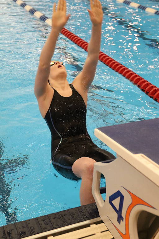 . 2018 - Swimming - D1 Sectionals at Spire.  Sarah Bennett of Chardon won the 100 yard Backstroke in a time of 59.16.