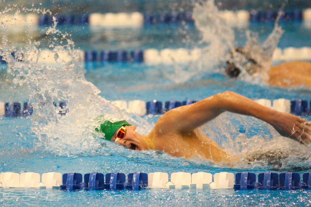 . 2018 - Swimming - D1 Sectionals at Spire.  Steven Grieshammer of Mayfield won the 500 yard Freestyle in a time of 4:47.12.