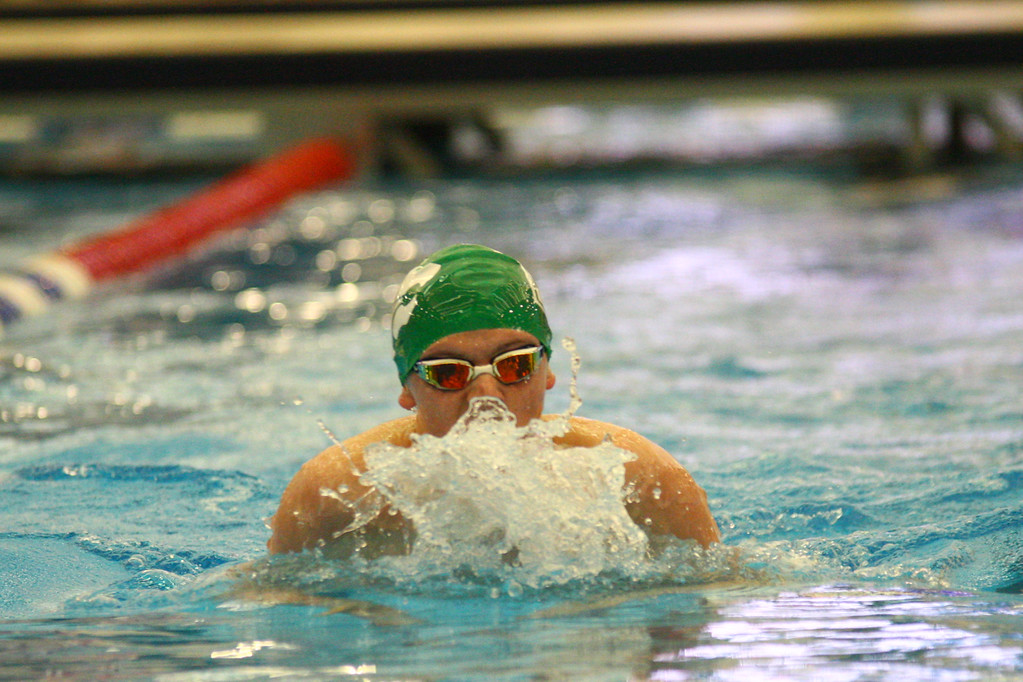 . 2018 - Swimming - D1 Sectionals at Spire.  Steven Grieshammer of Mayfield took second in the 200 IM in a time of 2:03.10.