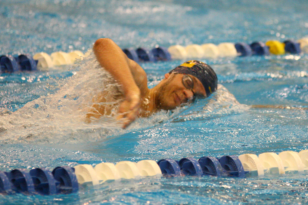 . 2018 - Swimming - D1 Sectionals at Spire.  Andrius Kijauskas of Euclid won the 200 yard Freestyle in a time of 1:43.59.