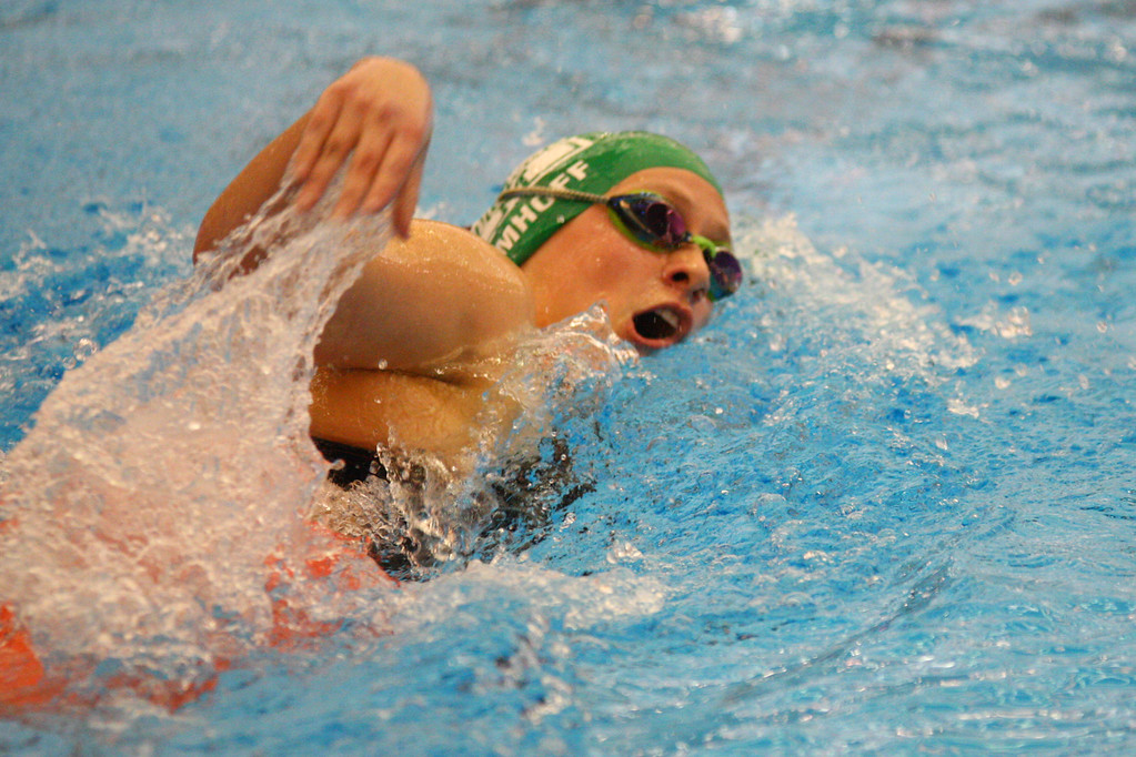 . 2018 - Swimming - D1 Sectionals at Spire.  Alison Imhoff of Mayfield won the 500 yard Freestyle in a time of 5:20.60.