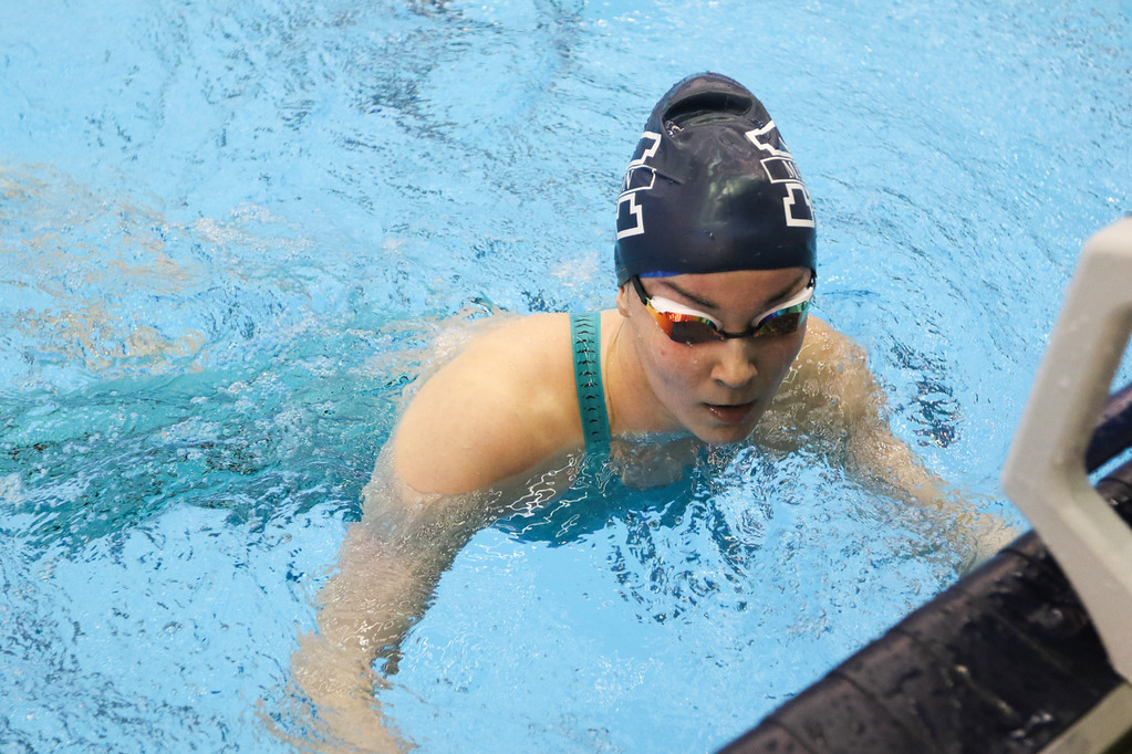 . 2018 - Swimming - D1 Sectionals at Spire.  Zoey Fedele of Madison won the 100 Yard Butterfly in a time of 57.97.