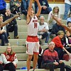 Paul DiCicco - The News-Herald<br /> Mentor's Matt Koski shooting one of Mentor's many 3-pointers.
