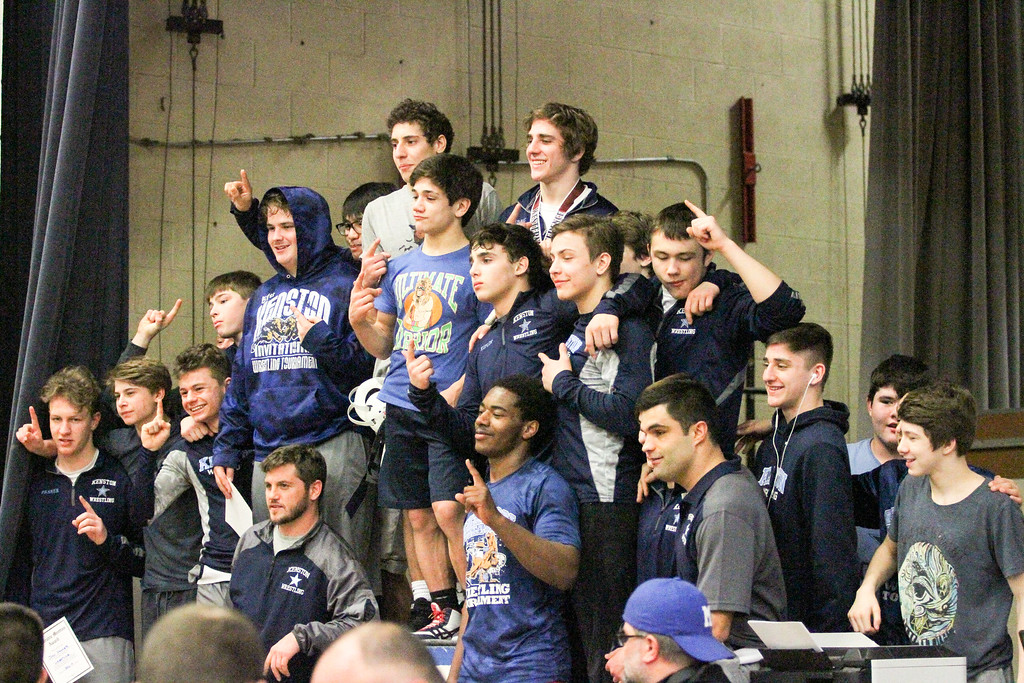 . Barry Booher - The News-Herald Action from the Western Reserve Conference wrestling tournament, held Feb. 11 at Madison.
