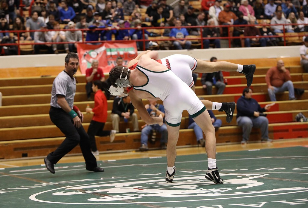 . Sharon Holy - The News-Herald Photos from Lake Catholic at the Division II state duals wrestling tournament on Feb. 11 in Columbus.