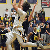 Paul DiCicco - The News-Herald<br />  Wickliffe's Nicky Fenton with a floater in the lane to bring Wickliffe closer late in the game.