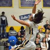 Paul DiCicco - The News-Herald<br /> Wickliffe's Scott Fortkamp laying it in late in the game against Beachwood.
