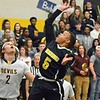 Paul DiCicco - The News-Herald<br />  Beachwood's Josh Sizemore, shooting from inside the key.