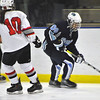 Jon Behm - The Morning Journal<br /> Benedictine senior Cameron Brown (00) works around Parma's Miranda Wessel during the first period of an OHSAA Brooklyn District first round game on Feb. 15 at Brooklyn's John M. Coyne Recreation Center.