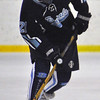 Jon Behm - The Morning Journal<br /> Benedictine freshman Michael Wilk brings the puck up ice during the first period of an OHSAA Brooklyn District first round game against Parma on Feb. 15 at Brooklyn's John M. Coyne Recreation Center.