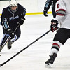 Jon Behm - The Morning Journal<br /> Benedictine sophomore Matt Carson (13) works to get around Parma's Robbie Gudin during the first period of an OHSAA Brooklyn District first round game on Feb. 15 at Brooklyn's John M. Coyne Recreation Center.