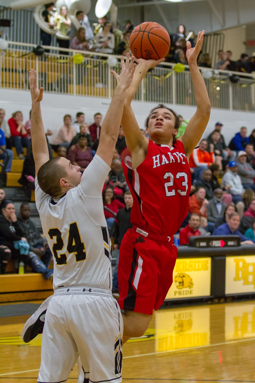 . Barry Booher - The News-Herald Photos from the Harvey at Riverside boys basketball game on Feb. 17 at Riverside.