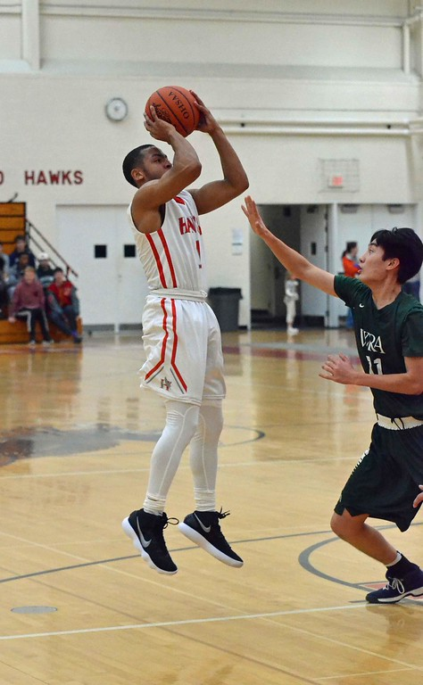 . Paul DiCicco - The News-Herald Photos from the Hawken vs. Hudson WRA boys basketball game on Feb. 17.