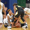Paul DiCicco - The News-Herald<br /> Euclid and Cleveland Heights players battle for the ball.