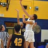 Paul DiCicco - The News-Herald<br />  Opening Tip between the Euclid Panthers vs Cleveland Heights Tigers on Feb 18.