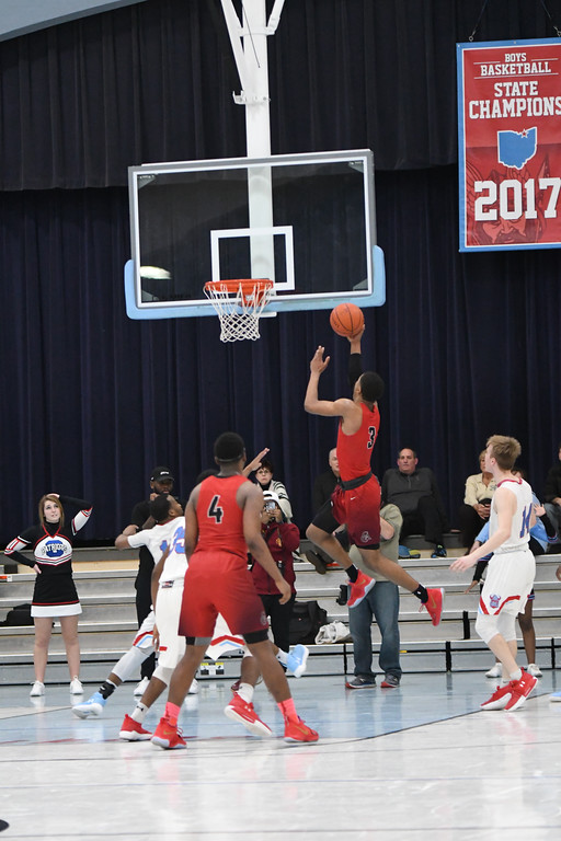 . Patrick Hopkins - The News-Herald Photos from the Cornerstone Christian at VASJ boys basketball game on Feb. 19, 2018.