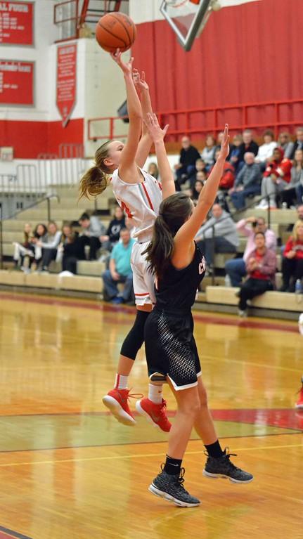 . Paul DiCicco - The News-Herald Photos from the Chardon vs. Mentor girls basketball game on Feb. 22, 2018.