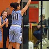 Paul DiCicco - The News-Herald<br /> Kenston's Corenna Maynard attempting a 3-pointer in the second quarter.