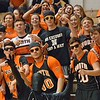 Paul DiCicco - The News-Herald<br /> The North Rangers cheering section.