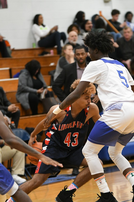 . Patrick Hopkins - The News-Herald Action from the Lincoln-West-Ricmond Heights game Feb. 24.