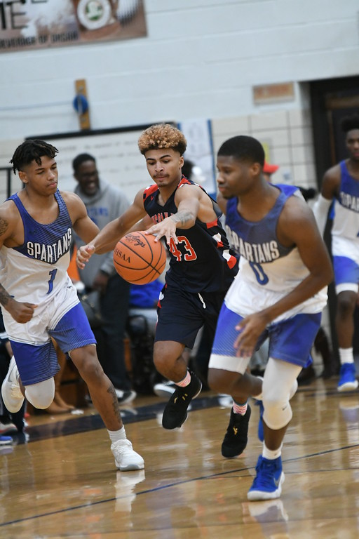 . Patrick Hopkins - The News-Herald Action from the Lutheran West-Ricmond Heights game Feb. 24