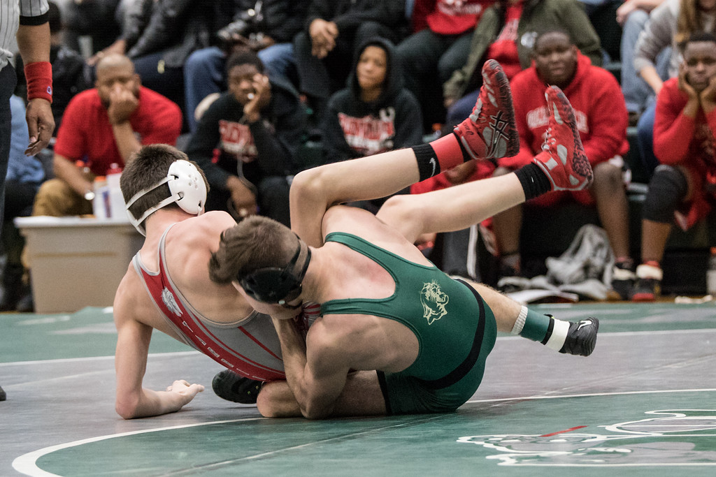 . Sharon Holy - The News-Herald Photos from the Division II Lake Catholic Sectional wrestling tournament on Feb. 24, 2018.