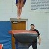 Paul DiCicco - The News-Herald<br /> NDCL's Tara Soria performing her vault exercise at the 2017 OHSAA Northeast Ohio District Meet at West Geauga High School on Feb. 25.