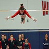 Paul DiCicco - The News-Herald<br /> Action from the district gymnastics meet on Feb. 25 at West Geauga High School.