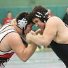 Barry Booher - The News-Herald<br /> Alec Gonzalez ( Perry ) v Deontae Turner ( Harvey ) 285 LBS.