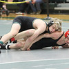 Barry Booher - The News-Herald<br /> Conor McCrone ( Lake Catholic ) (TOP) v David Boykin ( Harvey ) 113 LBS.