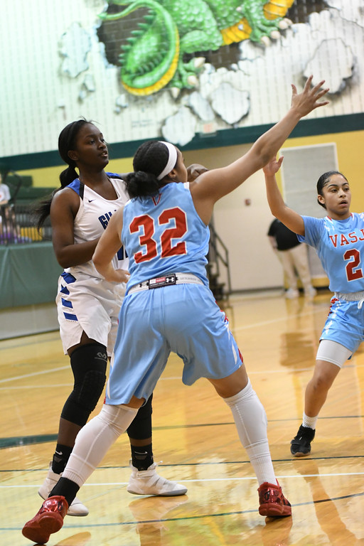 . Patrick Hopkins - The News-Herald Photos from the Gilmour vs. VASJ Division II district semifinal on Feb. 26.
