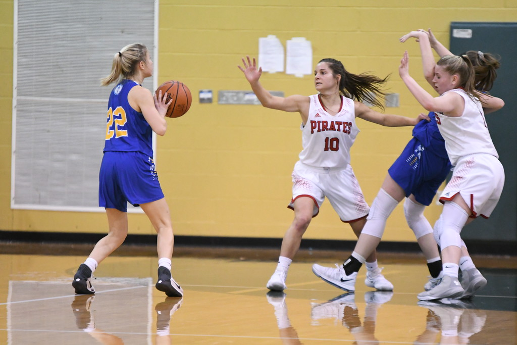 . Patrick Hopkins - The News-Herald Photos from the NDCL vs. Perry Division II district semifinal on Feb. 26.