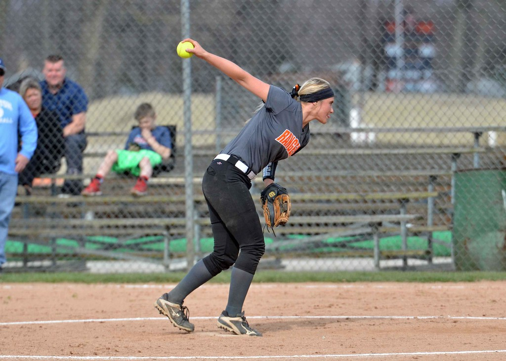 . Paul DiCicco - The News-Herald Photos from the Kenston vs. Eastlake North softball game on April 23, 2018.