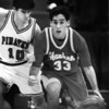 Hawken's Greg Adler and Perry's Borja Diaz in February 1995.