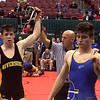 John Kampf - The News-Herald<br /> Riverside's Alex Farenchak during the first day of the state wrestling tournament on March 9 in Columbus.