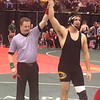 John Kampf - The News-Herald<br /> Kevin Coates is officiating his third individual state tournament. He is from Chardon.