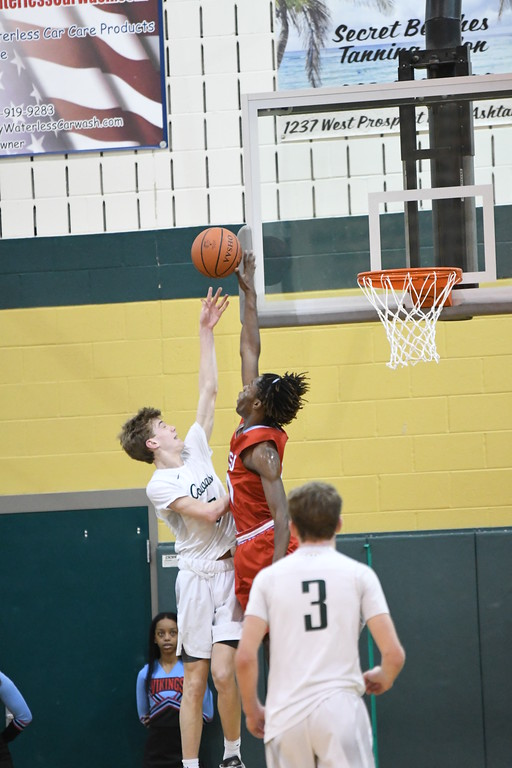 . Patrick Hopkins - The News-Herald Photos from the VASJ vs. Lake Catholic boys basketball game on March 10, 2018, at Lakeside.